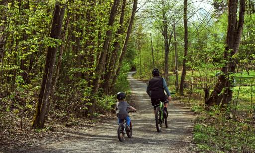 image: Skal gjøre det enklere å sykle med barn