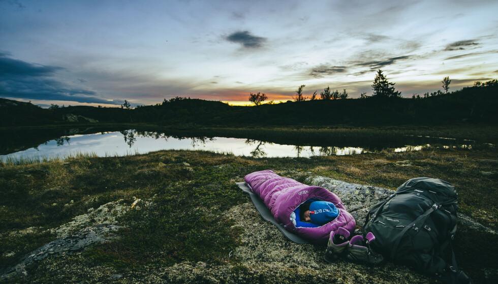 VASSFARET: Solnedgang i Vassfaret. Marius Dalseg Sætre / DNT