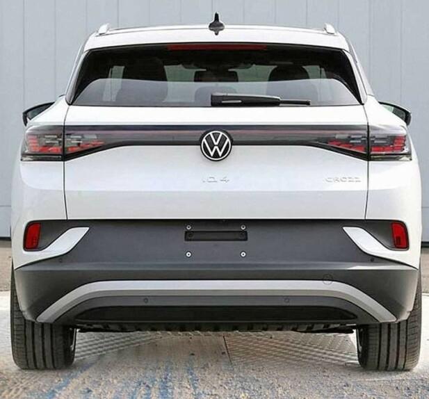 HØY HEKK: Det sorte feltet blir veldig dominerende og gir bilen høyde selv om den har nok av horisontale linjer for å bryte det. Foto: VWIDTalk