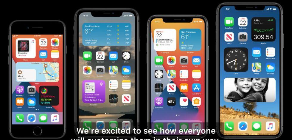 image: Endelig widgets på iPhone-hjemskjermen