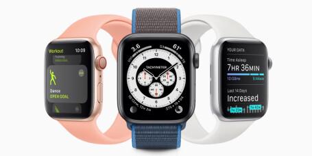 Nå får Apple Watch søvnsporing