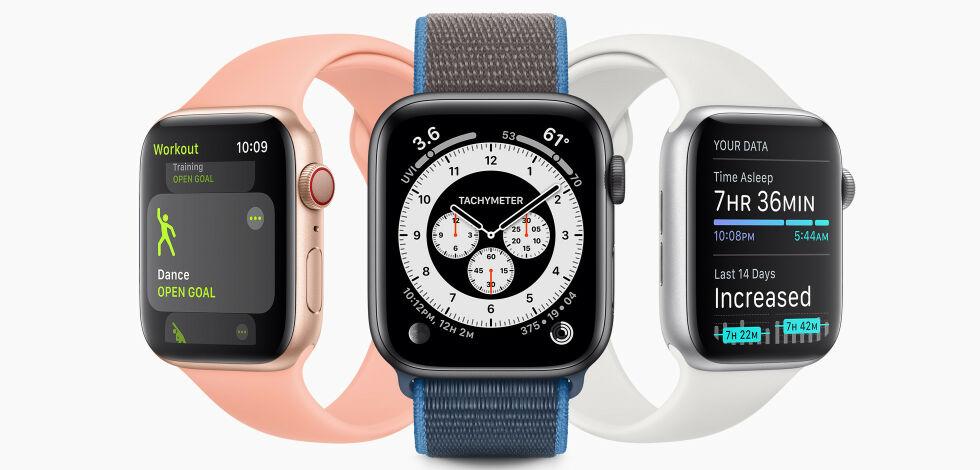 image: Nå får Apple Watch søvnsporing
