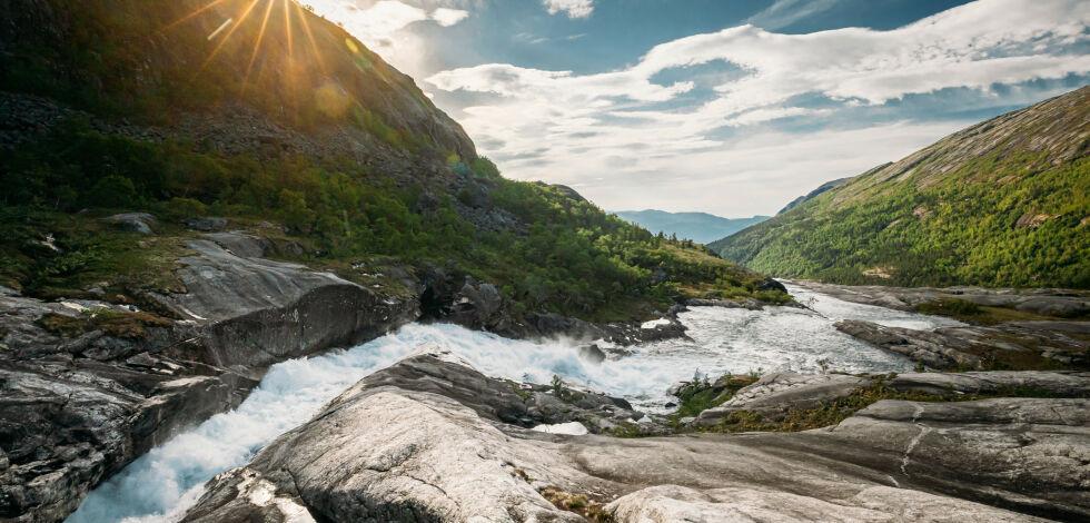image: Her får du fjellet for deg selv