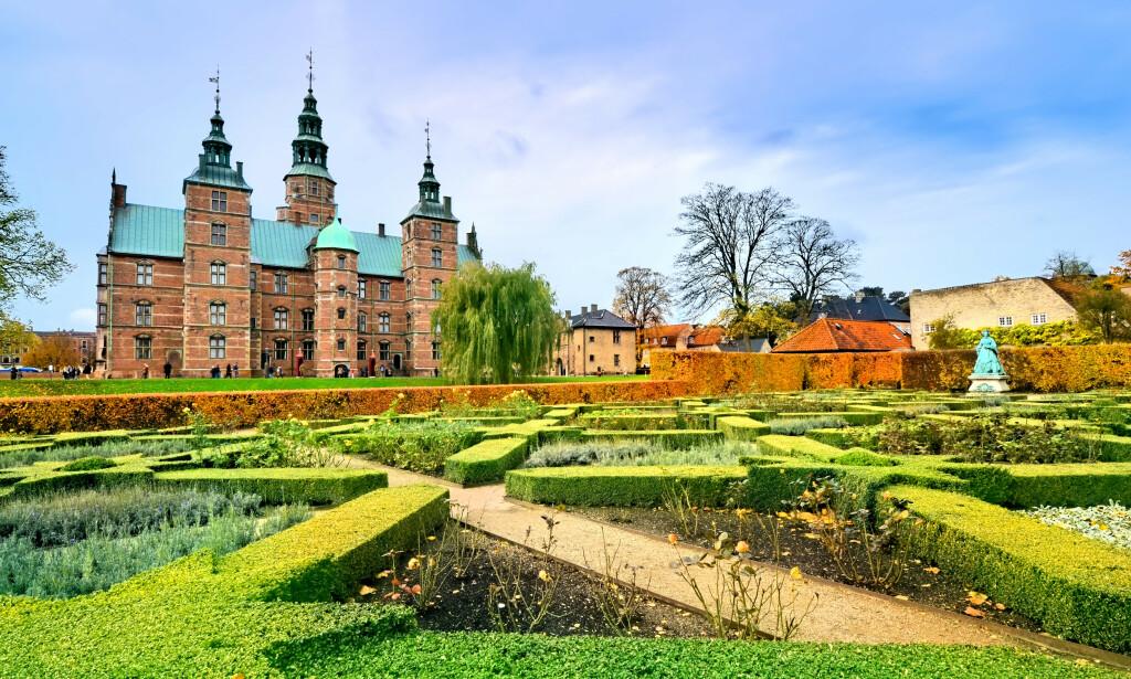 IKKE DRA: Kongens Have i København er en av de såkalte hotspots-ene det advares mot å oppholde seg i. Foto: NTB Scanpix