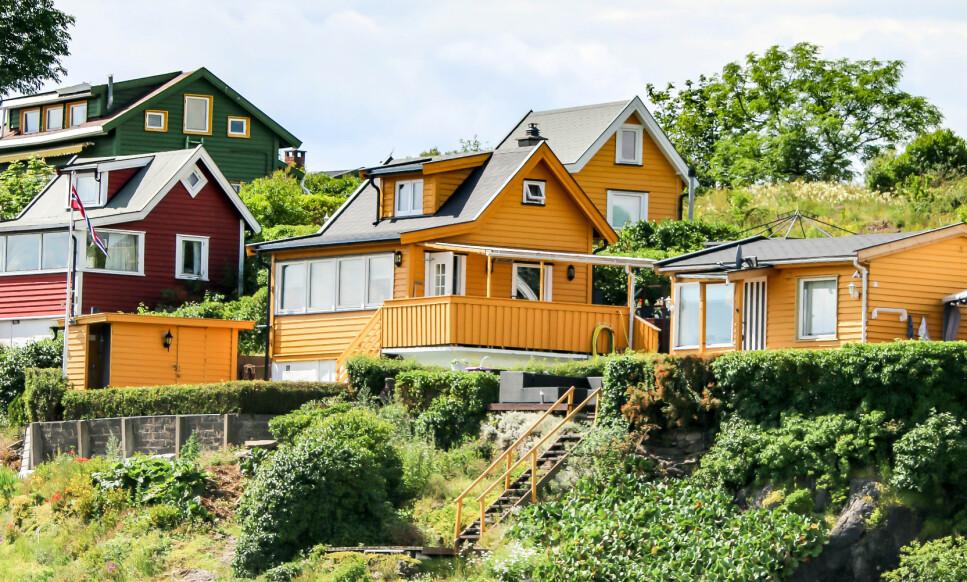 HVOR GÅR GRENSA? Konfrliktrådet frykter en økning i nabokrangler når flere skal tilbringe sommeren på hytta. Foto: NTB scanpix