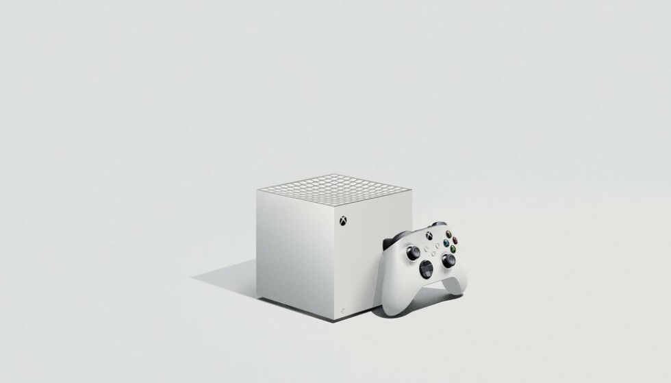<strong>LOCKHART:</strong> Reddit-brukeren jiveduder har laget denne skissen på hvordan Xbox Series S kan bli seende ut. Foto: jiveduder/Reddit