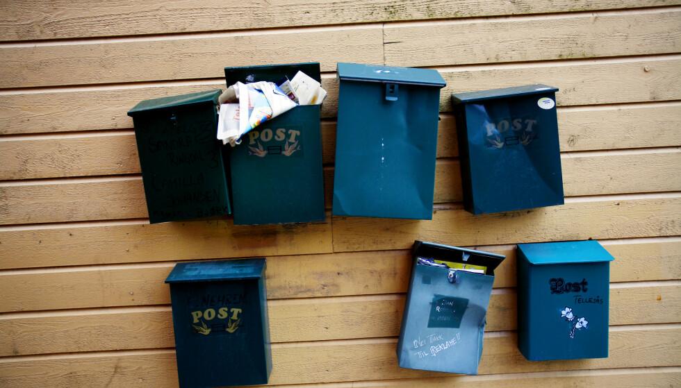 POSTEN: Nå er det slutt på levering i postkassa hver hverdag.  Foto: Sara Johannessen/NTB Scanpix
