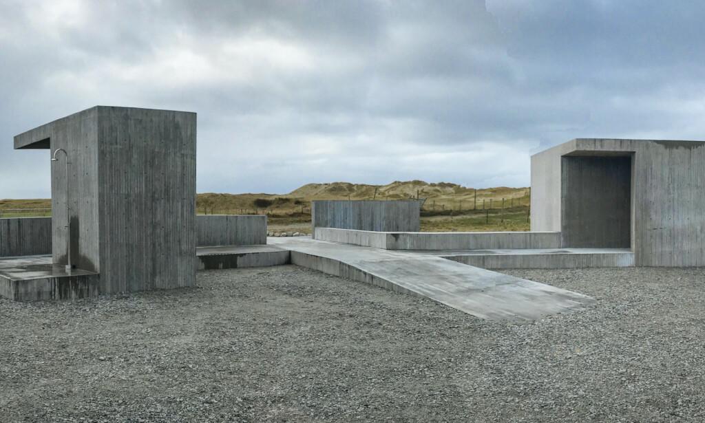 ENKELT: Borestranda er en del av Nasjonal turistveg Jæren Foto: Lie Øyen Arkitekter