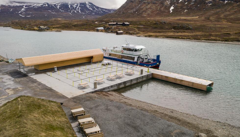NYTT: Gjendeosen er en travel møteplass ved innfallsporten til Jotunheimen nasjonalpark. Foto: Harald Christian Eiken