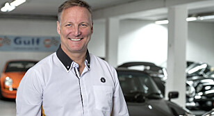 Bilpleier Bjørn-Aage Bredal er markedssjef i Garasjetid. Foto: Garasjetid
