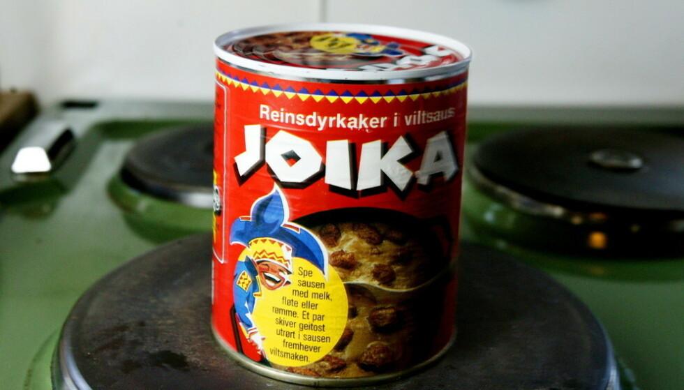 NY BOKS: Nå endres designet til den karakteristiske Joika-boksen. Foto: Aleksander Nordahl / Dagbladet