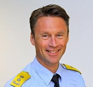 STEVEN HASSELDAL: Sjef i Utrykningspolitiet. Foto: UP.