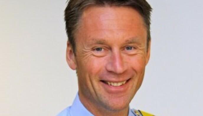 FORNØYD: UP-sjef Steven Hasseldal er glad det innføres strengere sanksjoner mot ulovlig mobiltelefonbruk i bilen.