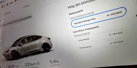 Tysk Tesla-tabbe – mann kjøpte 28 biler ved et uhell