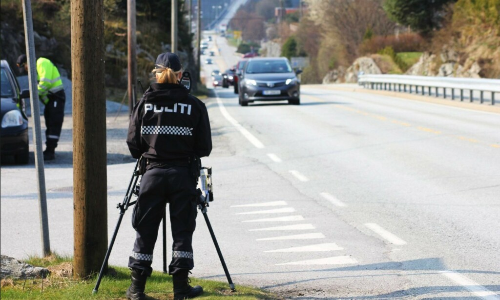 AKSJONSUKE: Denne uka vil UP være ekstra synlige langs norske veier. Foto: UP/Facebook