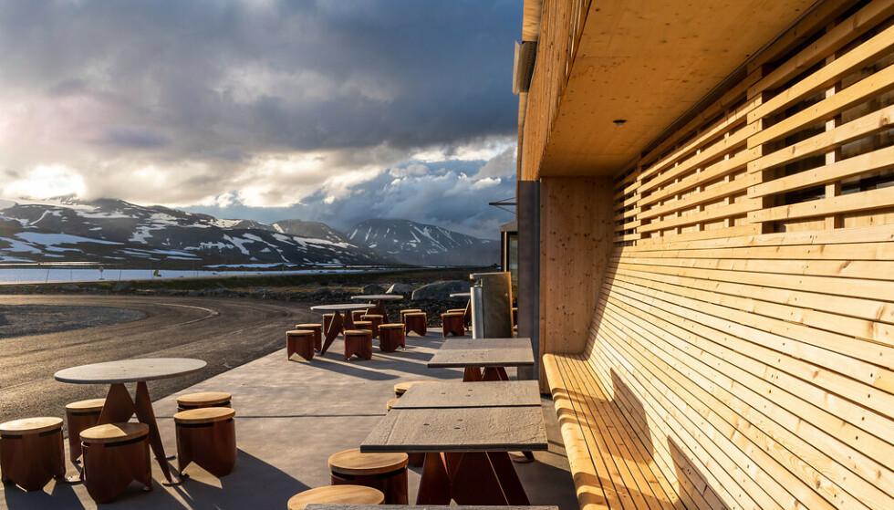 NYÅPNET: 2. juli åpnet Flye 1389 på toppen av Valdresflye. Foto: Silja Lena Løken