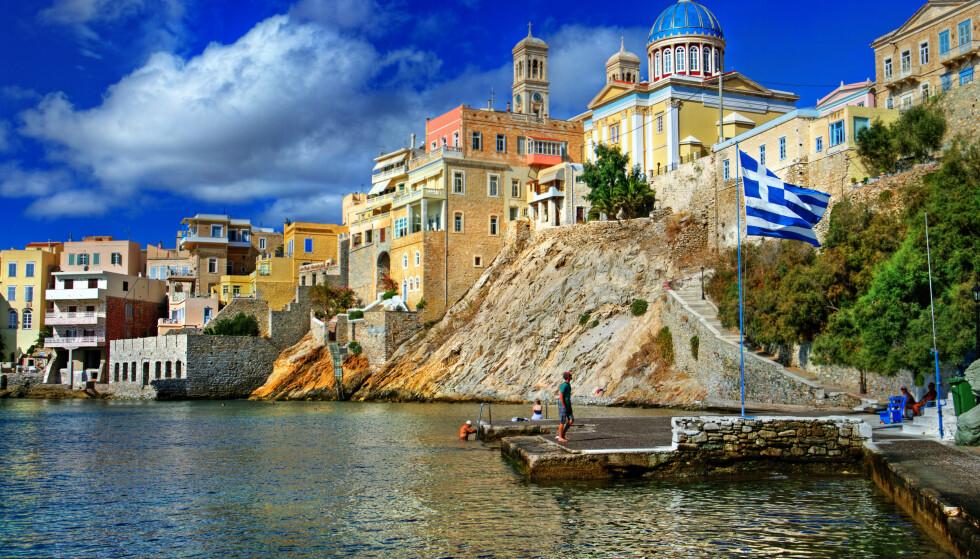 RHODOS: Hellas, og spesielt Kreta og Rhodos, er populære reisemål blant nordmenn. Foto: NTB Scanpix/Shutterstock