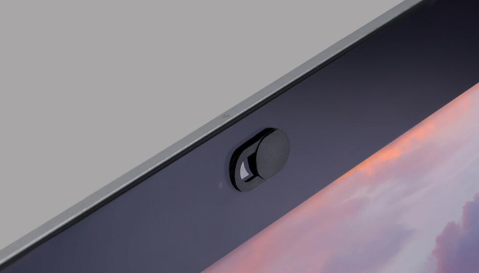 FOR TYKT: På noen Macbook-maskiner kan skjermen knuse om du monterer på et kameradeksel som det over. Foto: Shutterstock / NTB Scanpix