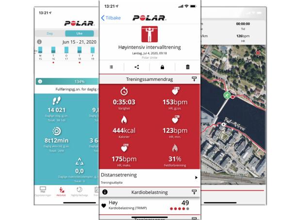Polar Flow-app.