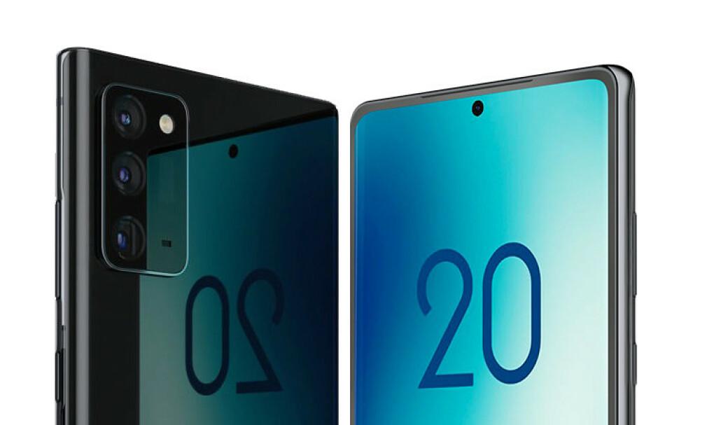 GALAXY NOTE 20: 5. august skal Samsung trolig avduke en haug med produkter. Deriblant Galaxy Note 20-serien. Foto: Ice Universe/Twitter
