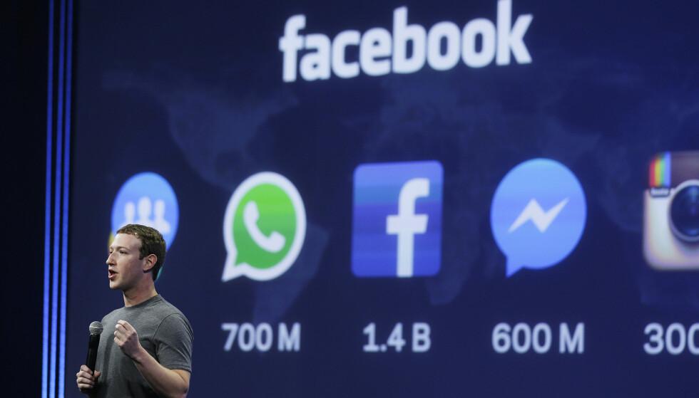 VIL VÆRE MED I KLUBBEN: Facebook-sjef Mark Zuckerberg sikter seg inn mot den nye snakkisen i sosiale medier, Clubhouse. Foto: Eric Risberg/AP Photo/NTB