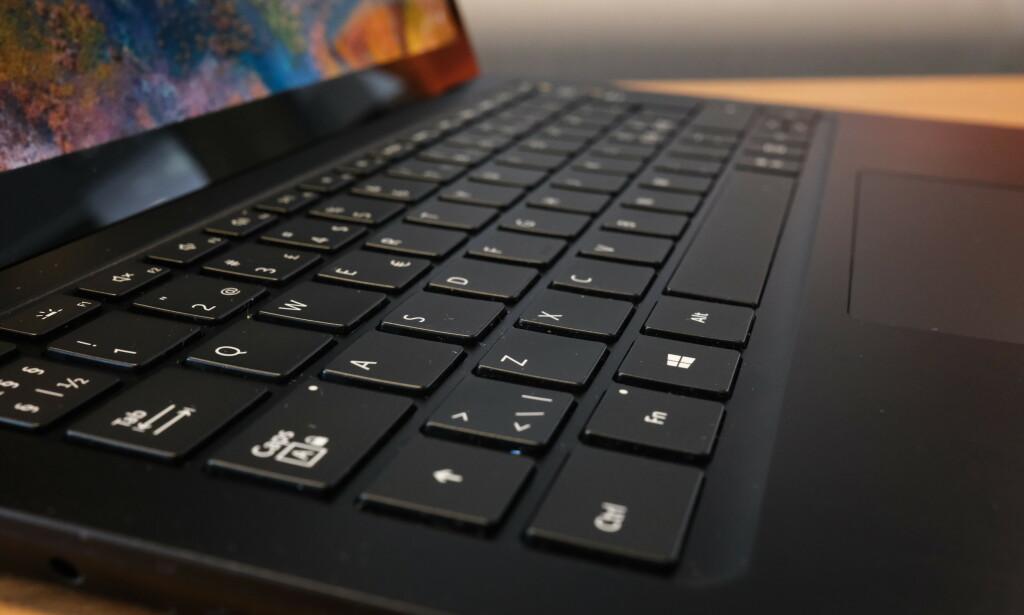 Tastaturet til Surface Laptop 3 er enestående. Foto: Martin Kynningsrud Størbu