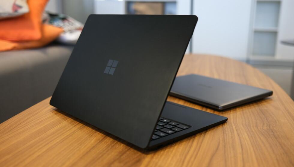 Surface Laptop 3 er godt skrudd sammen. Foto: Martin Kynningsrud Størbu