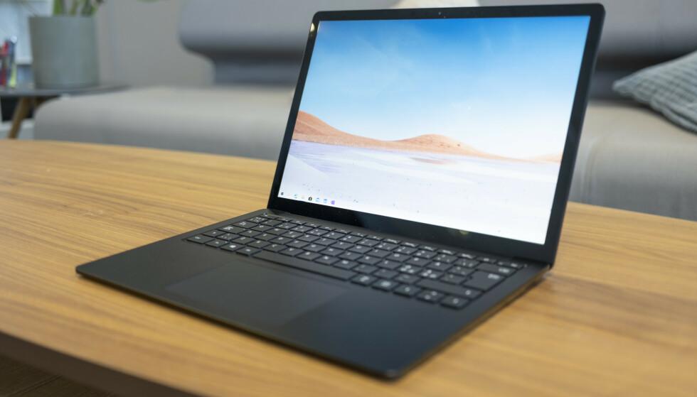 Surface Laptop 3. Foto: Martin Kynningsrud Størbu