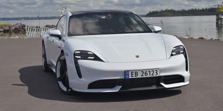 Porsche-elbilen oppgraderes