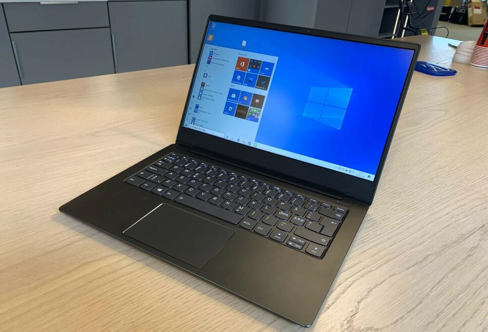 UVANLIG: Hvis du vet hva du ser etter, kan du ende opp med en kvalitets-PC som denne fra Lenovo, til under 2000 kroner. Foto: Bjørn Eirik Loftås