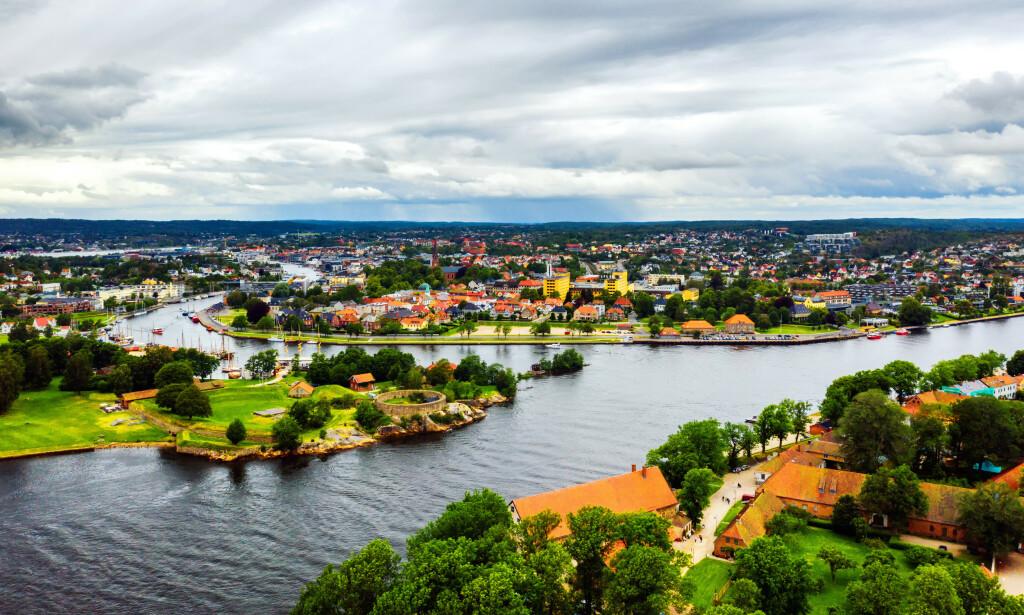 FREDRIKSTAD FLYR: Ifølge tall fra Finn.no har Fredrikstad hatt en vekst på nesten 130 prosent i antall boliger til salgs hittil i juli sammenlignet med i fjor. Norgesferien har tydelig gjort sitt for å bidra til fellesferiens boligmarked. Les mer i saken under. Foto: Shutterstock/NTB Scanpix.
