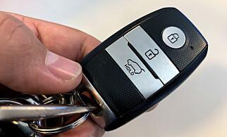 RESERVENØKKEL: Husk å ta med ekstranøkkel før du drar på langtur. Det kan redde bilferien. Foto: Bjørn Eirik Loftås