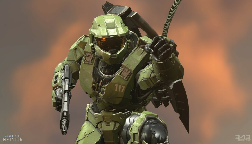 «HALO INFINITE»: Microsofts kjæledegge, Master Chief, er tilbake i et nytt «Halo-spill» som lanseres samtidig med Xbox Series X i høst. Foto: Xbox Game Studios