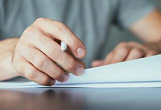 Sjekkliste før jobb-bytte