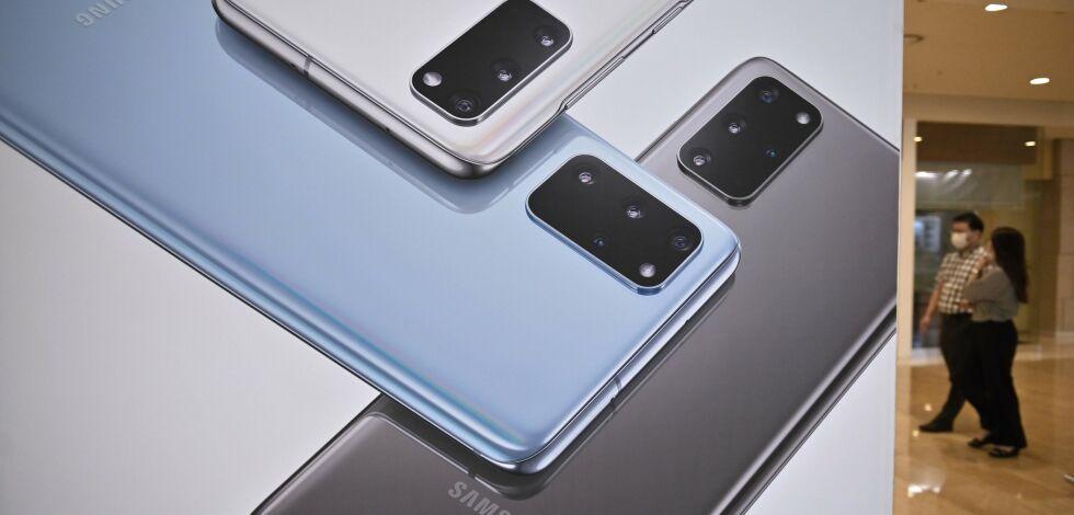 image: Samsung ikke lenger størst:- Bemerkelsesverdig