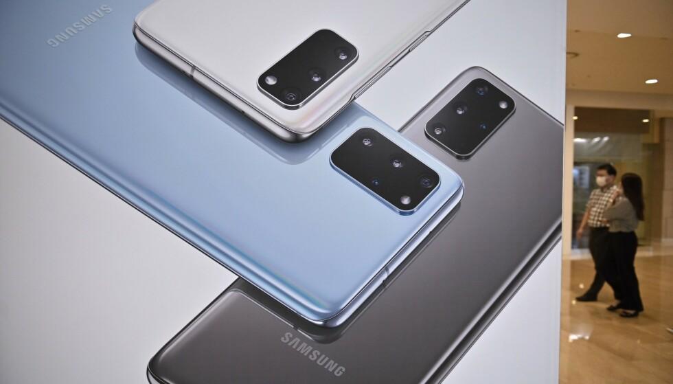 SAMSUNG: Ifølge Canalys har Huawei passert Samsung i smarttelefonmarkedet. Foto Jung Yeon-je/AFP/NTB Scanpix