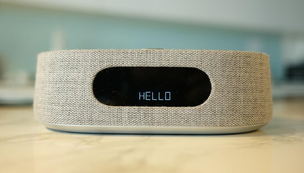 CITATION OASIS: Hamans nye smarthøyttalerserie består av små høyttalere til tårnhøyttalere. Og ja, også en vekkerklokke. Foto: Martin Kynningsrud Størbu