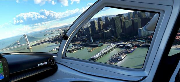 Skjermbilde fra Microsoft Flight Simulator 2020. Foto: Microsoft