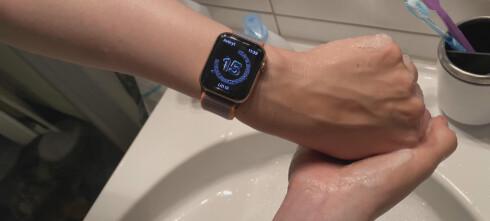 Vask hendene med smartklokka