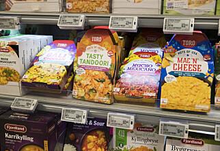 Kraftig prishopp på mat