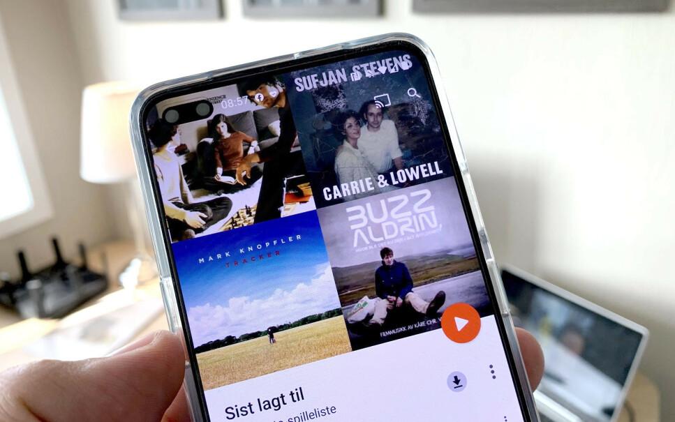 SISTE VERSET: Google Play Music stenges før utgangen av året. Heldigvis har både Google og konkurrentene gode alternativer. Foto: Bjørn Eirik Loftås
