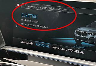 BMW kjører elektrisk i norske byer