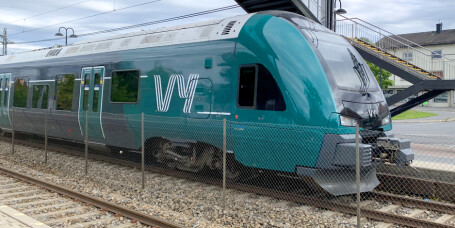 Buss for tog på Østfoldbanen