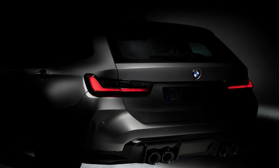 MER PRAKTISK: Om kort tid kommer nye M3 og M4. Og i 2022 kommer det også for første gang en Touring-utgave. Foto: BMW