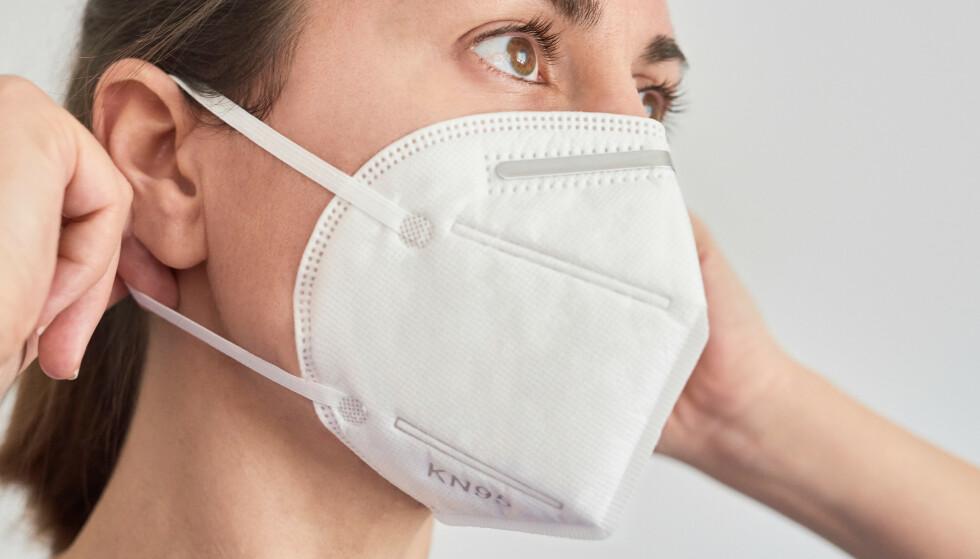 ÅNDEDRETTSVERN: Kategoriserer under «personlig verneutstyr» og beskytter også mot virus og partikler. Foto: Shutterstock/NTB scanpix