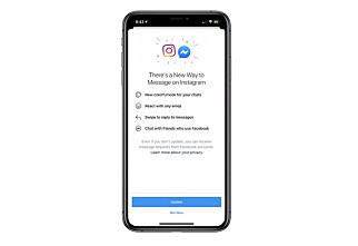 Facebook slår sammen Instagram og Messenger