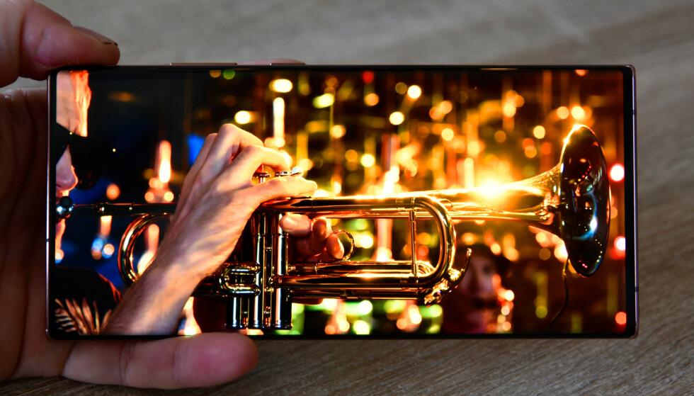 FLOTT: Note 20 Ultra-skjermen er blant de aller, aller ypperste. Foto: Pål Joakim Pollen