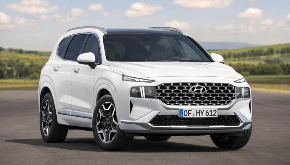 FOR FAMILIEN: Hyundai Santa Fé er en stor familiebil. Foto: Hyundai