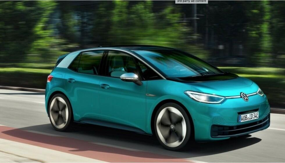 RYDDER PLASS: Uten vanlig motor, girkasse, bensintank og eksosanlegg, blir det mye plass innvendig. Foto: VW