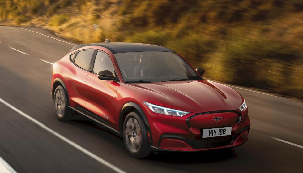 GOD REKKEVIDDE: Mustang Mach-E gir lengst rekkevidde for pengene. Foto: Ford